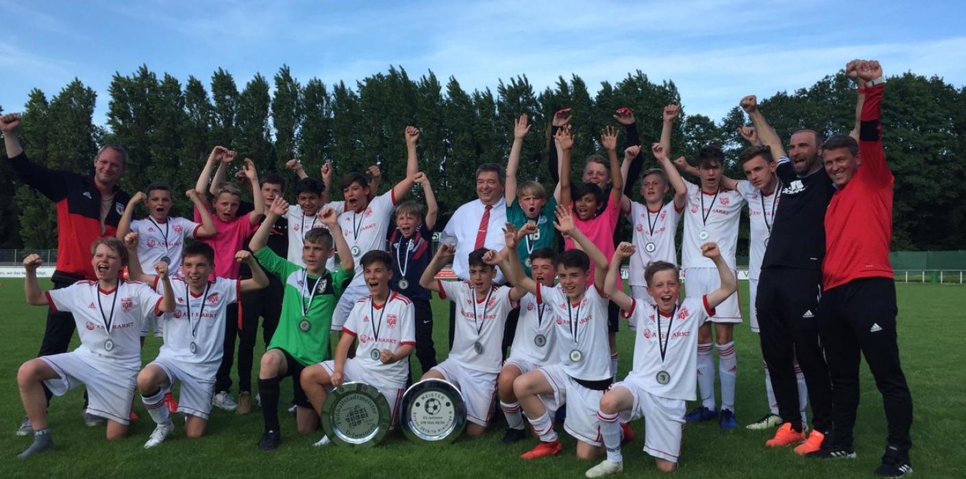 U13 sichert sich die Stadtmeisterschaft und sammelt Sympathien