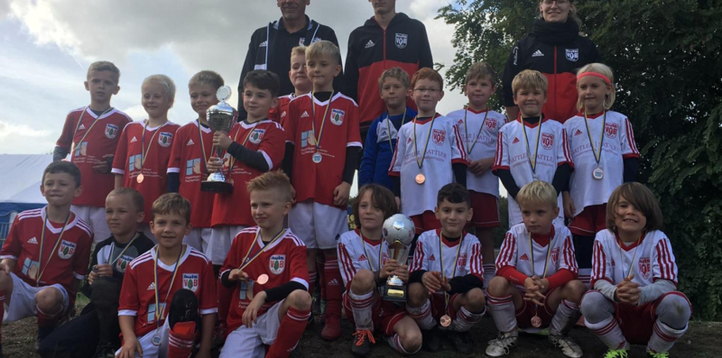 F2 gewinnt stark besetztes Jugendturnier in Gelsenkirchen