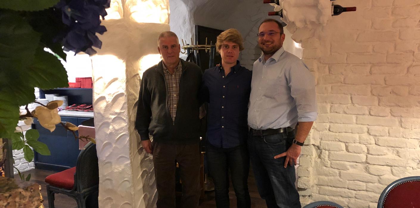 Ruder-Weltmeister Jason Osborne besucht die sportliche Heimat