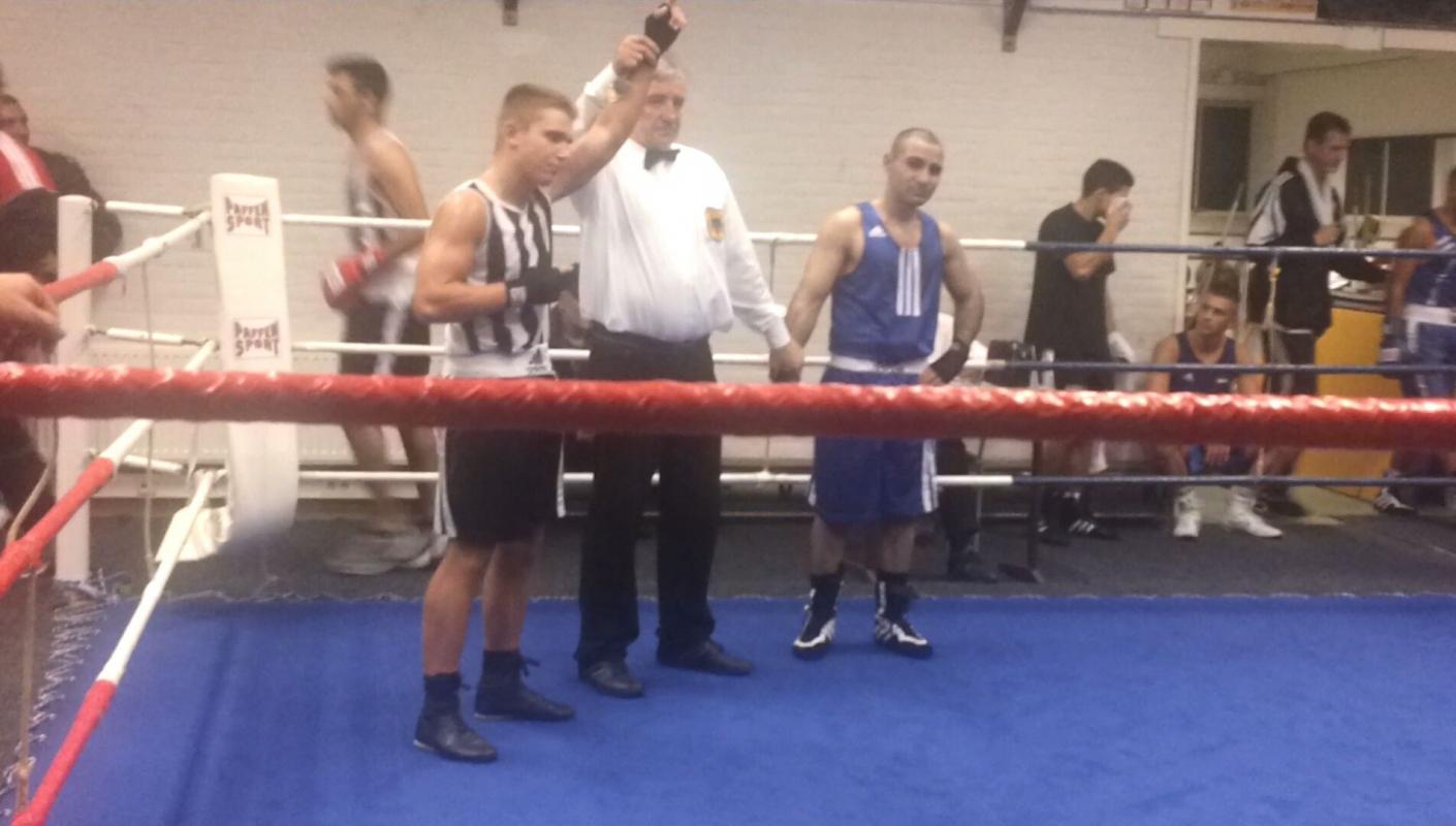 Trainingsbeginn bei den Boxern