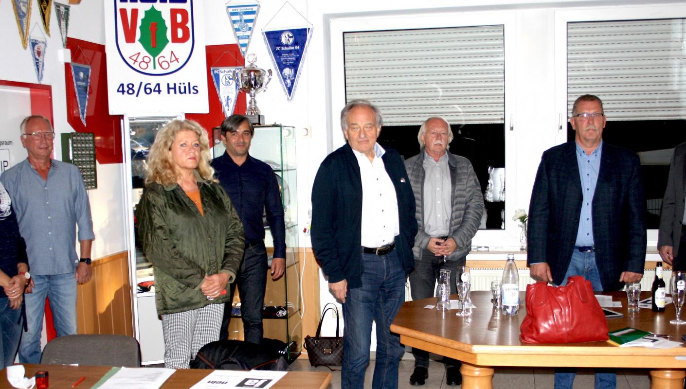 """""""Der VfB Hüls ist gesund!"""""""