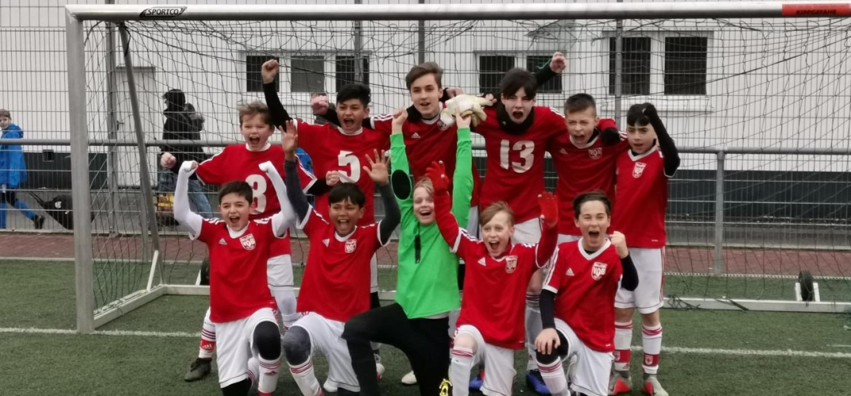 Souverän: U13 gewinnt Turnier bei Rot Weiss Ahlen
