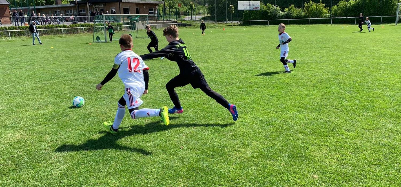 12:1 gegen Bossendorf - U10 bleibt unbesiegt