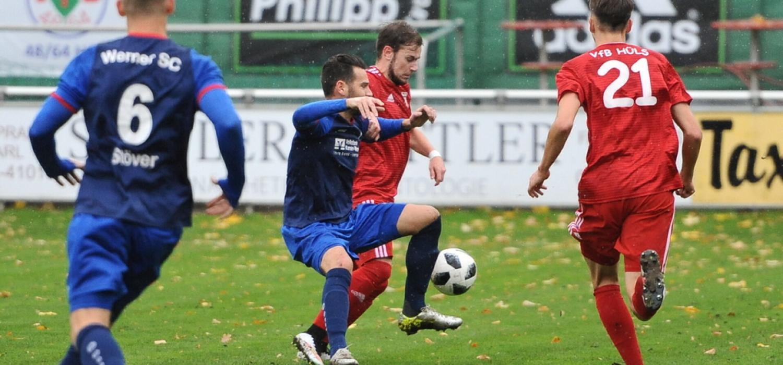 0:2 gegen Werne - VfB auf Abstiegsplatz